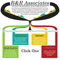 R&R Associates: Website for a variety of product distribution.